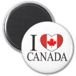 I Love Canada Fridge Magnets
