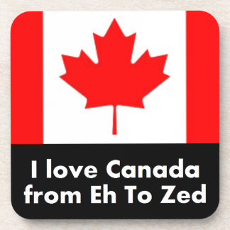 I love Canada from Eh to Zed Coaster