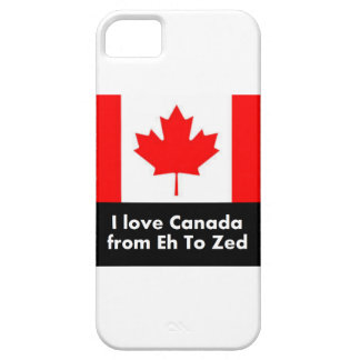 I love Canada from Eh to Zed iPhone SE/5/5s Case