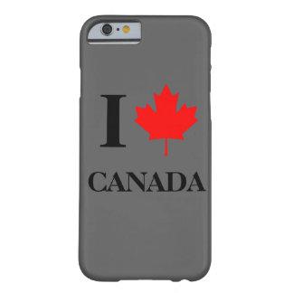 I Love Canada Grey iPhone 6 Case