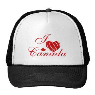 I Love Canada Trucker Hat