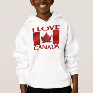 I Love Canada Hoodie Souvenir Canada Sweathirt