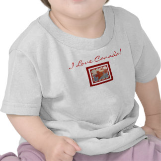 I LOVE CANADA Infant Shirts
