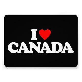 I LOVE CANADA ANNOUNCEMENT