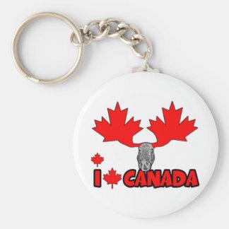 I love Canada Key Chain