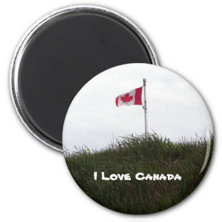 I Love Canada Magnet