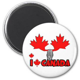 I love Canada Magnets