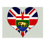 I Love Canada Manitoba Postcard