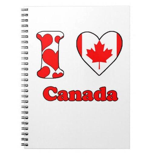 I love Canada Notebooks