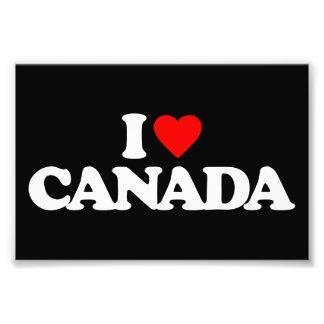 I LOVE CANADA PHOTO
