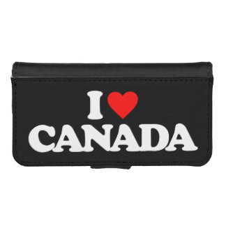 I LOVE CANADA iPhone 5 WALLETS