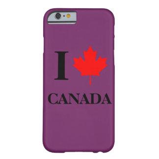 I Love Canada Purple iPhone 6 Case