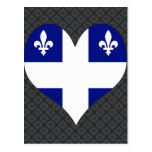 I Love Canada Quebec Postcards