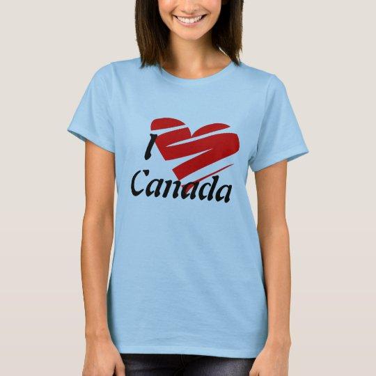 I Love Canada, Shirt