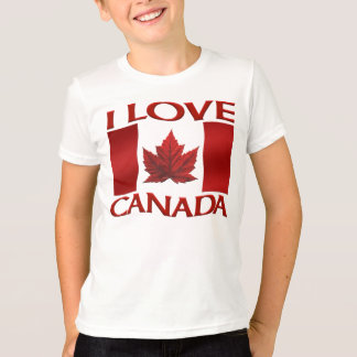 I Love Canada T-shirt Kid's Souvenir Canada Shirt