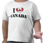 I Love Canada T Shirt Toddler Tee Shirts