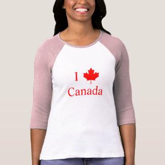 I Love Canada Tshirts