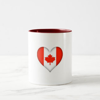 I love Canada Two-Tone Coffee Mug
