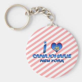 I love Canajoharie, New York Keychain