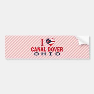 I love Canal Dover, Ohio Bumper Stickers
