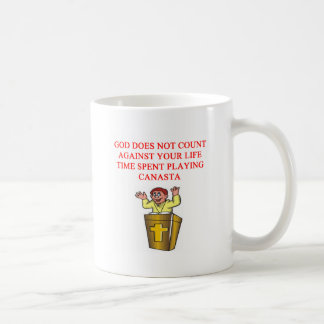 i love canasta coffee mug