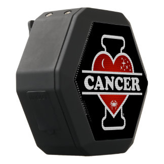 I Love Cancer Black Bluetooth Speaker