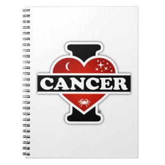 I Love Cancer Notebook