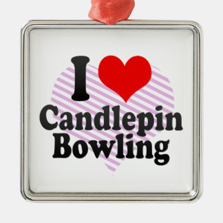 I love Candlepin Bowling Christmas Ornaments