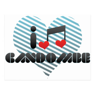 I Love Candombe Postcard