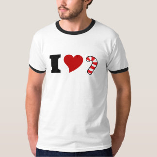 I Love Candy Canes T-Shirt