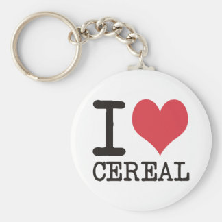I LOVE Candy Cereal Cake Products & Designs! Keychain