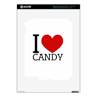 I Love Candy iPad 3 Skins