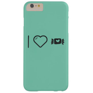 I Love Candy Wrappers Barely There iPhone 6 Plus Case