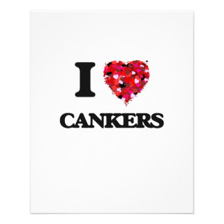 """I love Cankers 4.5"""" X 5.6"""" Flyer"""