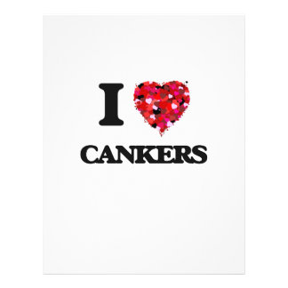 """I love Cankers 8.5"""" X 11"""" Flyer"""