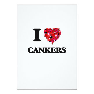 I love Cankers 3.5x5 Paper Invitation Card