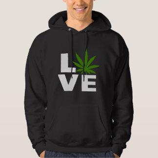 I Love Cannabis Marijuana Black T-Shirt