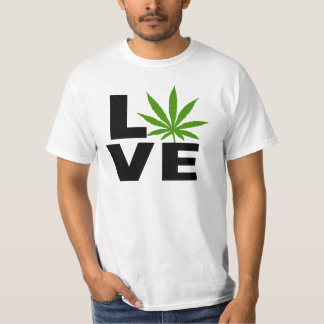 I Love Cannabis Marijuana T-Shirt