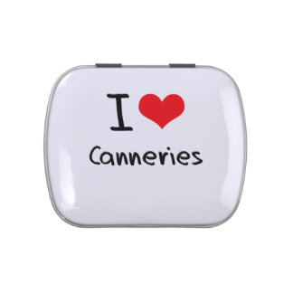 I love Canneries Jelly Belly Candy Tin