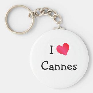 I Love Cannes Keychain