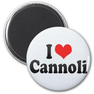 I Love Cannoli Magnet