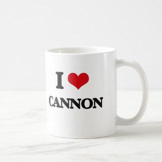 I Love Cannon Classic White Coffee Mug