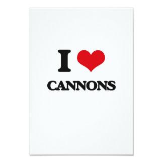I love Cannons Custom Invites