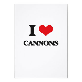 I love Cannons Cards