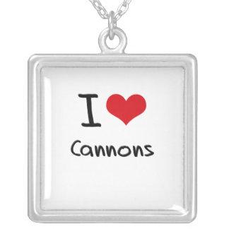 I love Cannons Pendants