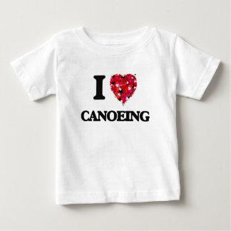 I love Canoeing Tees