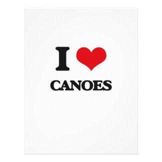 I love Canoes Flyers