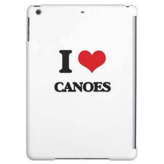 I love Canoes iPad Air Covers