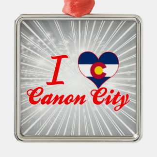 I Love Canon City, Colorado Christmas Ornament