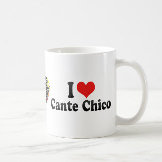I Love Cante Chico Classic White Coffee Mug